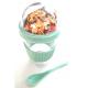 Muesli Yoghurt beker groen