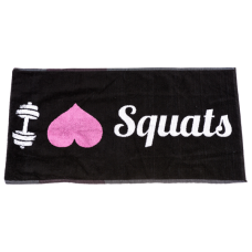 XXL NUTRITION GYM HANDDOEK I Love Squats