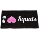 GYM HANDDOEK XXL NUTRITION I Love Squats