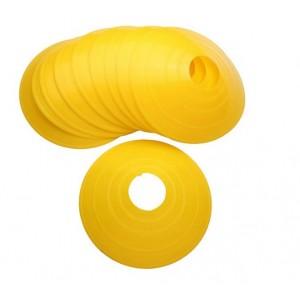 10x gele pionnen discs